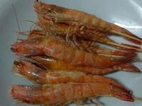 かにの鹽烤白蝦(氣炸鍋版)