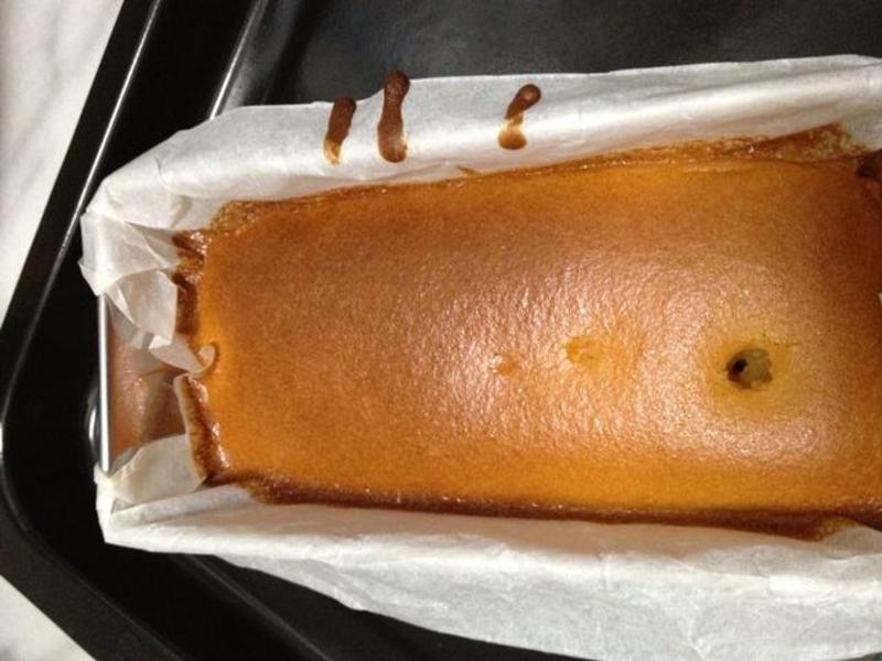 打得好辛苦的蜂蜜蛋糕