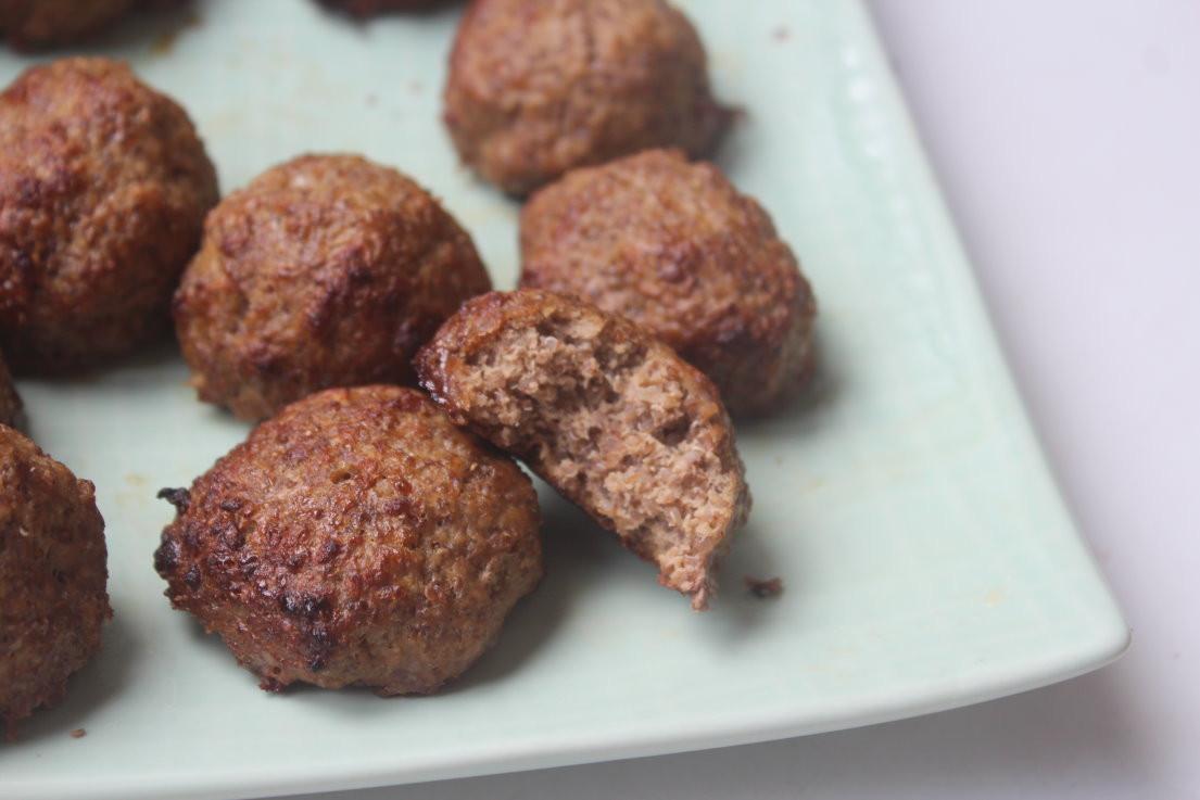 藜麥蘋果牛肉丸-手指食物