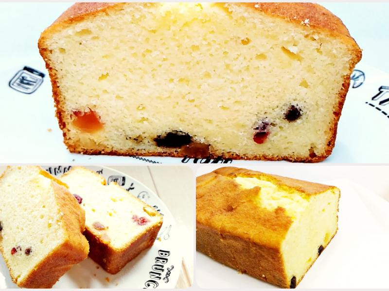 水果奶油乳酪磅蛋糕