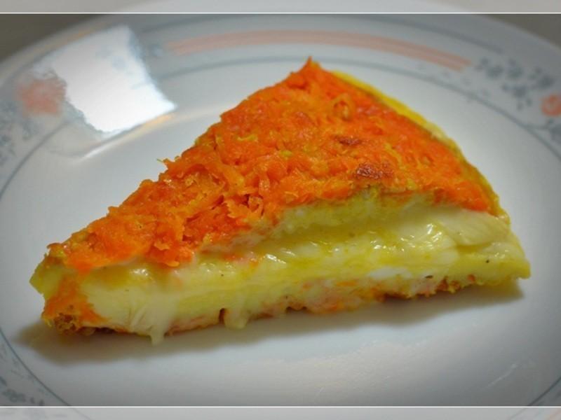 [四季江戶味之秋季料理]-紅蘿蔔夾心蛋捲