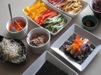 自助式紫菜包飯 셀프김밥