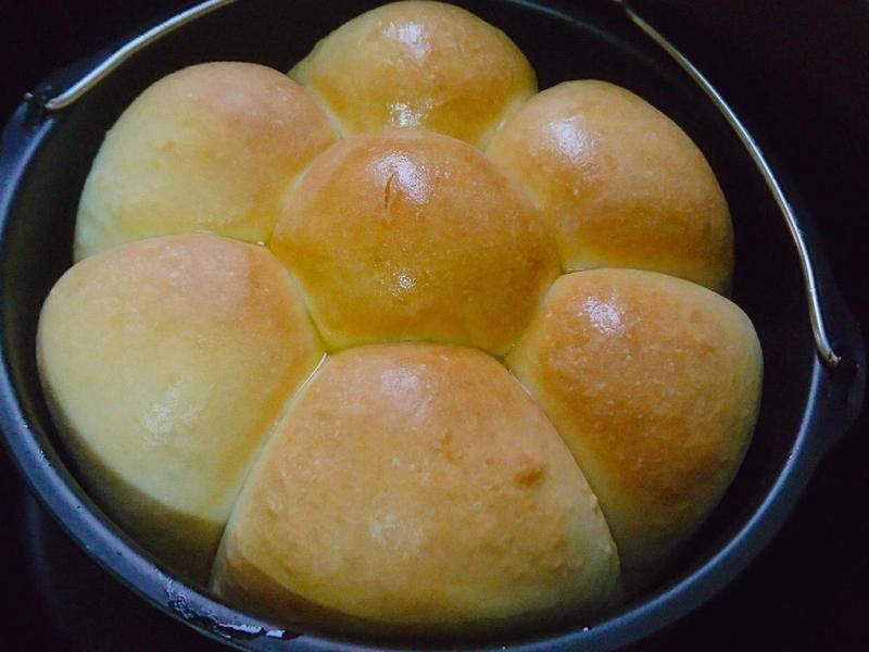 氣炸鍋 手撕麵包