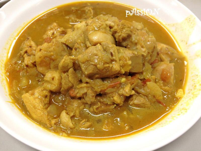 尼泊爾料理。精燉百味咖哩雞(4人份)