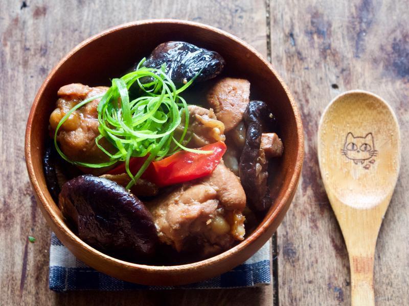 香菇滷雞翅【家常料理】