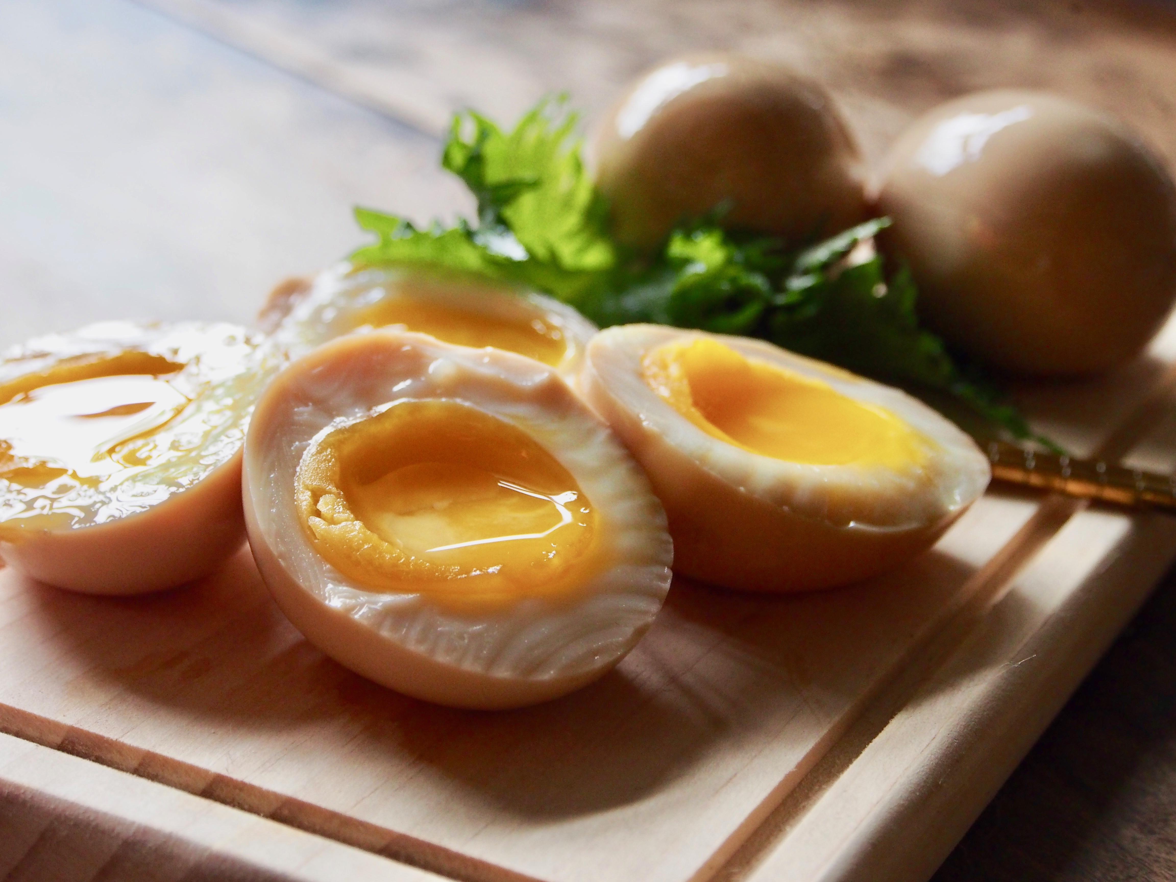 酒香滷水溫泉蛋【日式料理】