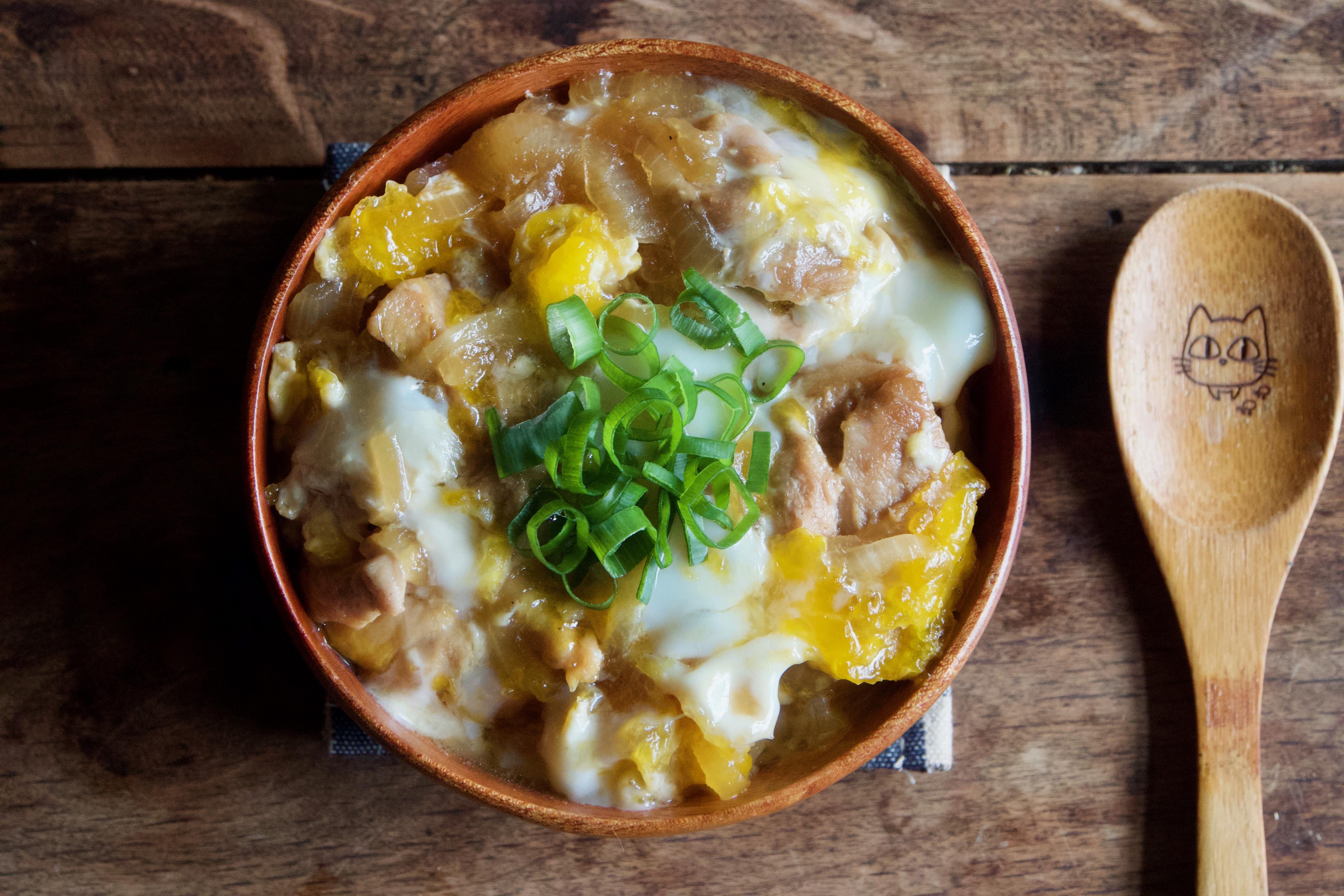 雞肉親子丼【親子料理】