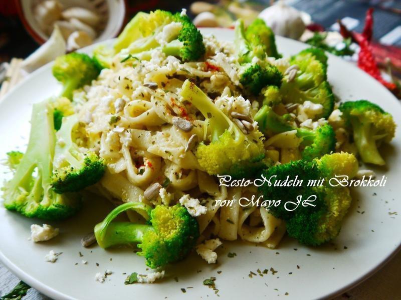 花椰菜青醬義大利麵