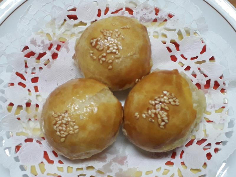 蛋黃酥(酥皮版)-中華二店氣炸鍋