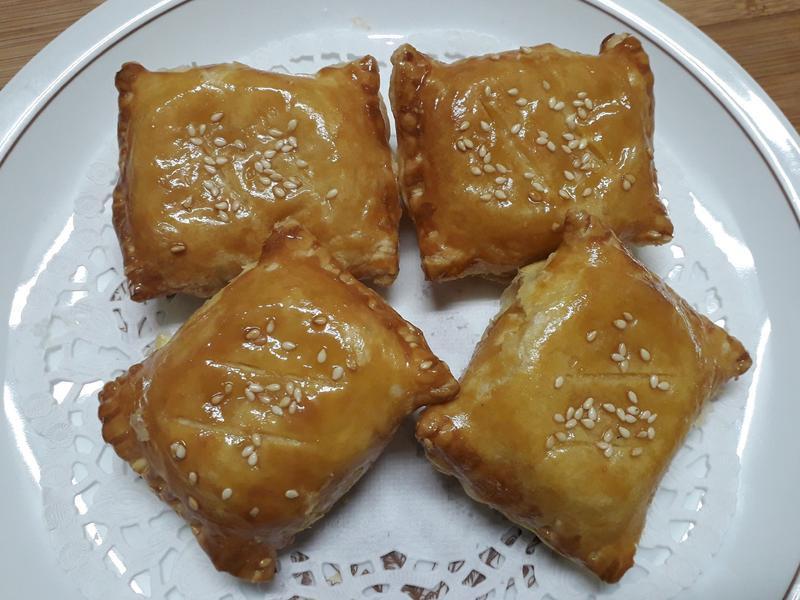 金沙綠豆酥-中華二店氣炸鍋