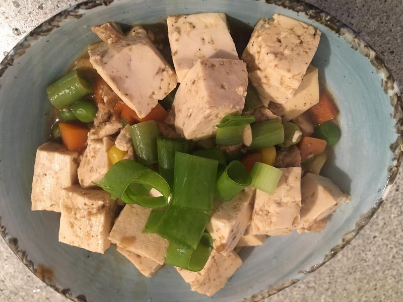 蔬食麻婆豆腐