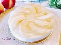 簡易免烤箱甜點-水蜜桃果凍生乳酪蛋糕