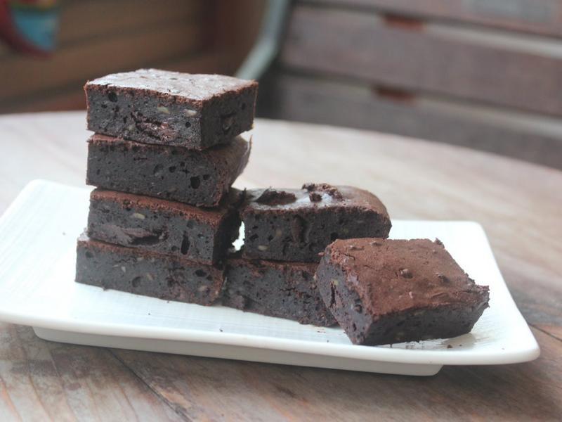 黑豆布朗尼蛋糕