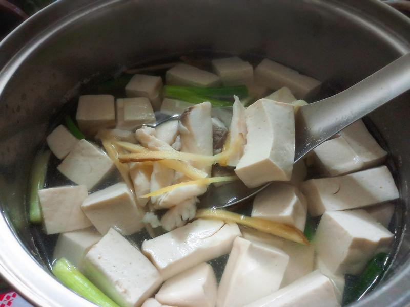 鯛魚豆腐湯