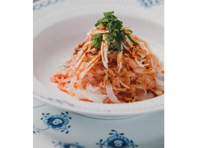低醣料理 <雞肉> 雞絲麻醬蒟蒻麵