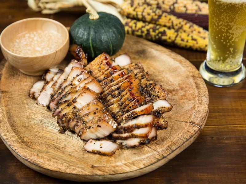 原住民風味鹹豬肉-豆油伯金美好醬油
