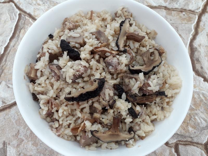 素香菇芋頭飯-中華二店氣炸鍋