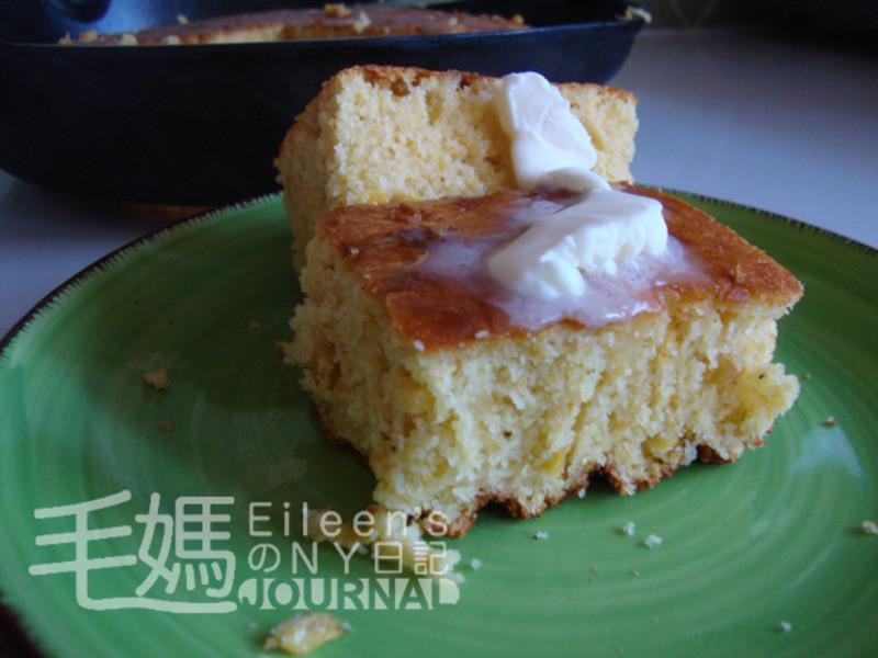 美式玉米醬玉米麵包 Creamed Corn Cornbread