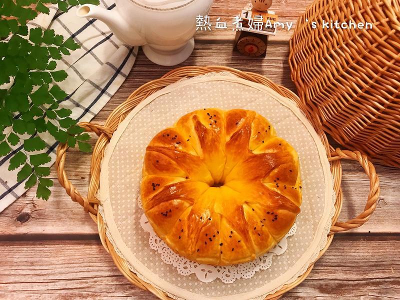皇冠奶油麵包