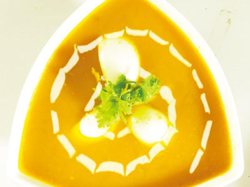 南瓜鮮蔬濃湯