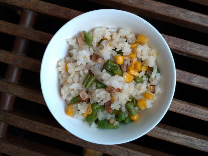 奶油蔬食炒飯∣午餐 野餐飯糰