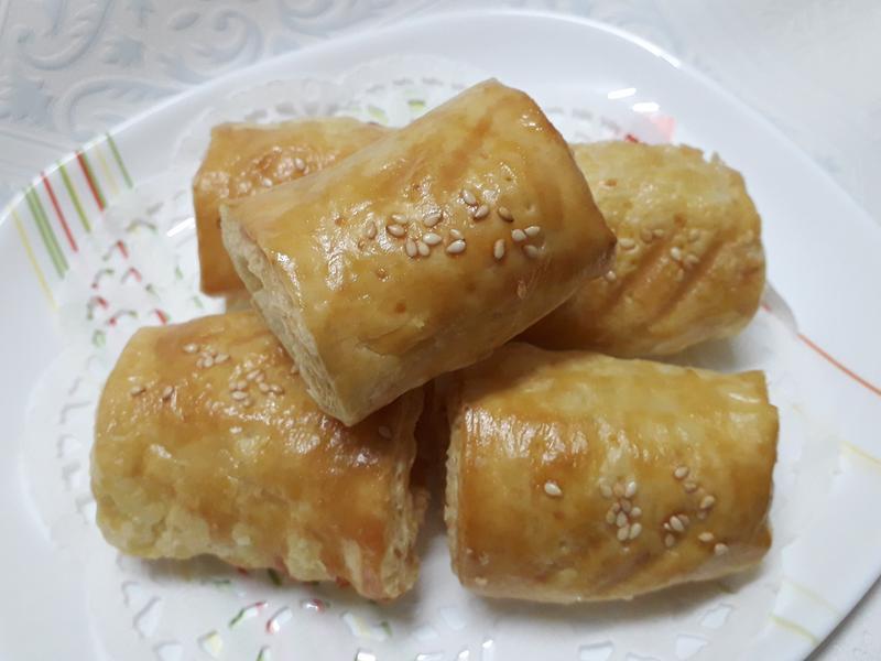 酥皮豆沙捲-中華二店氣炸鍋