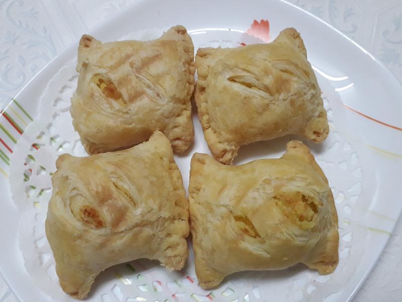 豆沙麻糬酥-中華二店氣炸鍋