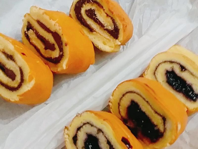 【三種內餡分享】原味蛋糕捲