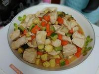 什錦雞胸肉(簡單料理)