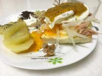 鮭魚蔬果班尼迪克蛋-橄欖油版本荷蘭醬