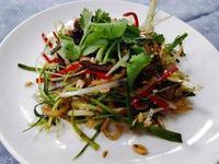 涼拌鱔絲 上海菜