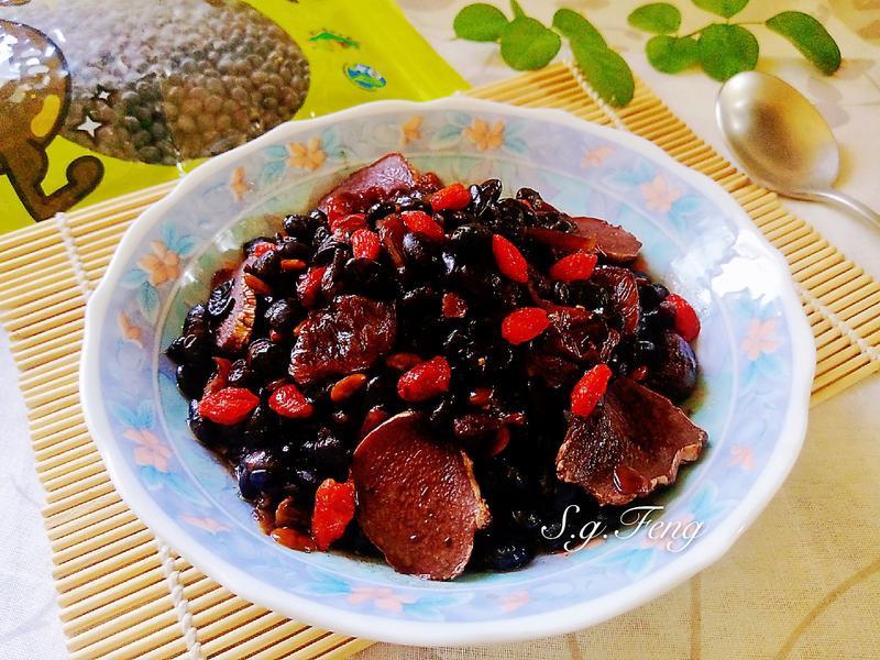 麻油桂圓黑豆酒