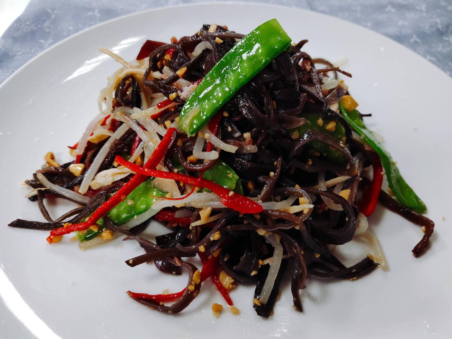 涼拌六一絲 上海菜