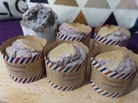 低糖紫薯杯子蛋糕