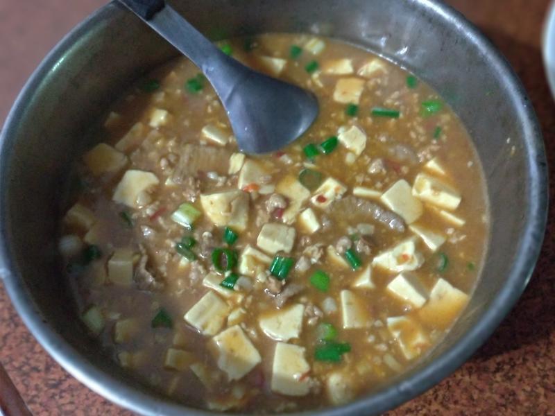 麻婆豆腐燴飯(家庭版)