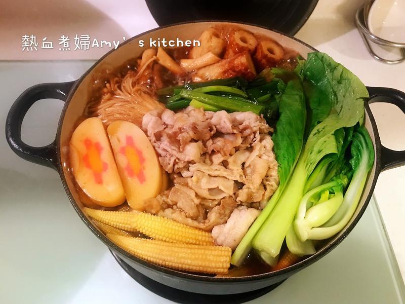 日式壽喜燒~懶人快手料理