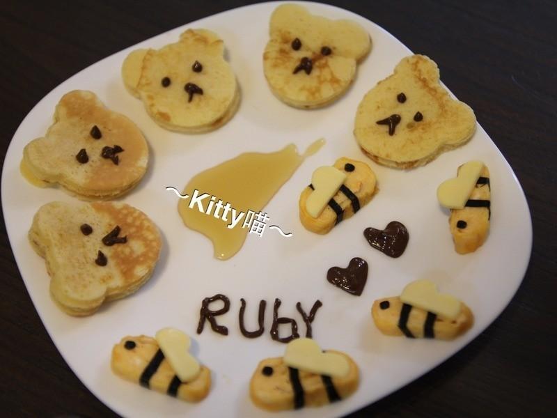 Kitty喵-小蜜蜂鬆餅餐