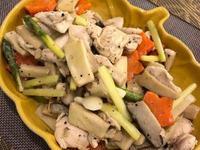 鮮蔬拌雞肉