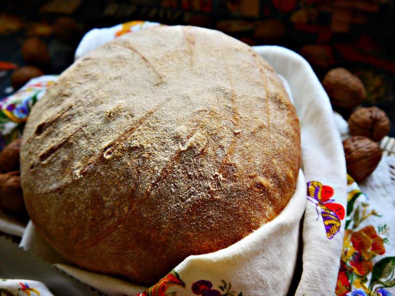 塞爾維亞 白麵包(Pogača)