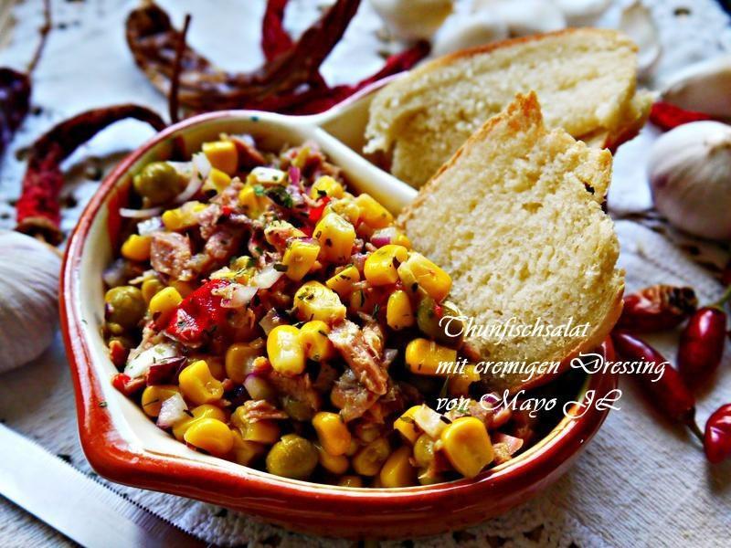 鮪魚玉米沙拉