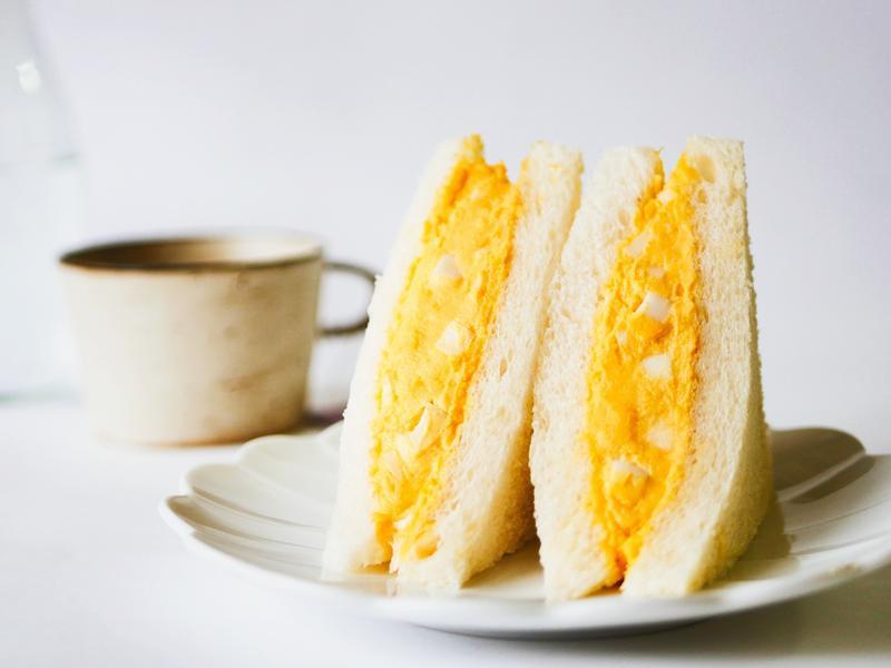 日本超商蛋沙拉三明治