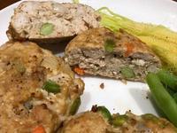 高蛋白「雞胸豆腐漢堡排」400卡