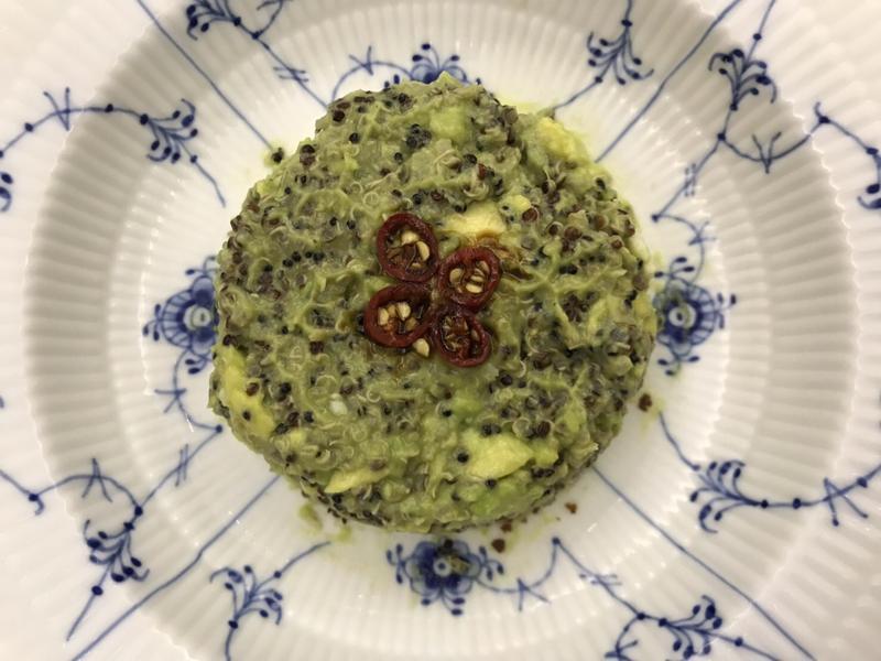 低醣料理 <瘦身料理> 藜麥酪梨塔