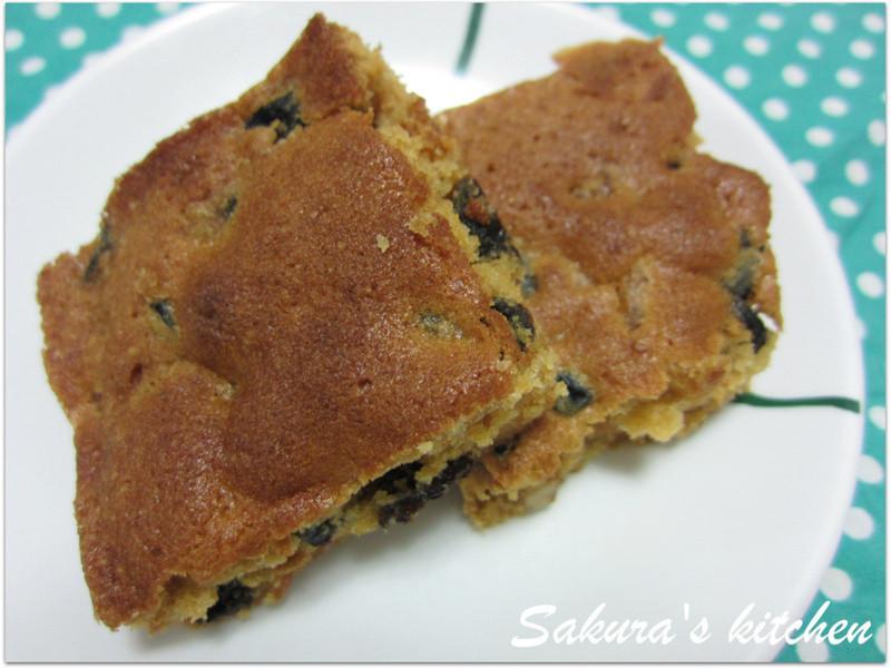 ♥我的手作料理♥ 焦糖水果奶油蛋糕