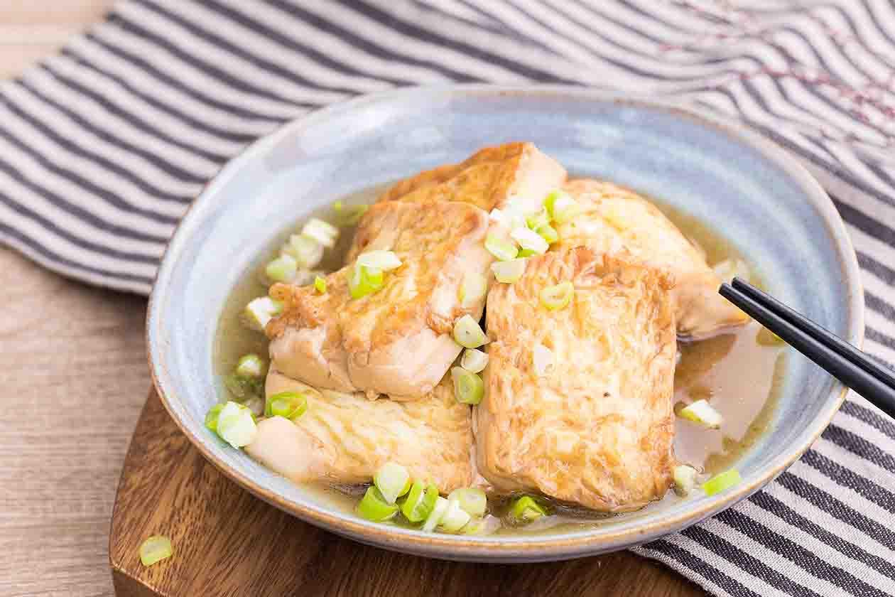 梅汁燒豆腐|低熱量開胃料理