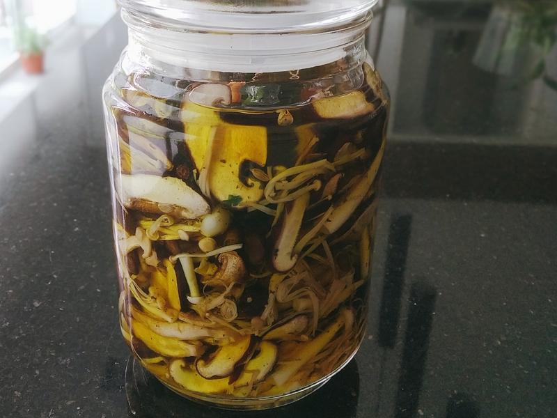 油漬菇(常備菜)