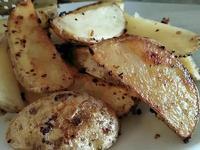 烤馬鈴薯塊