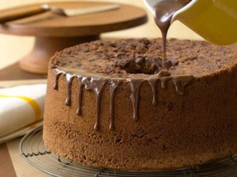 [在家也能輕鬆貴婦下午茶] 巧克力戚風蛋糕