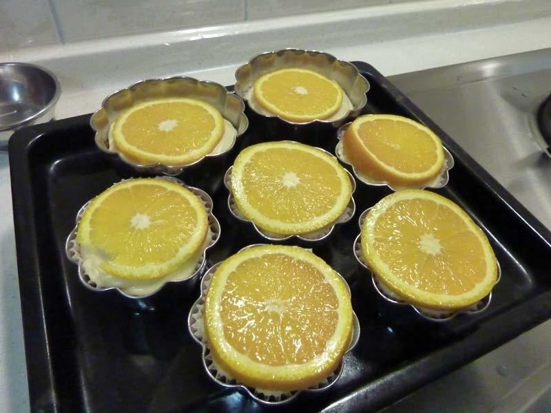 五月花妙用--香橙馬芬