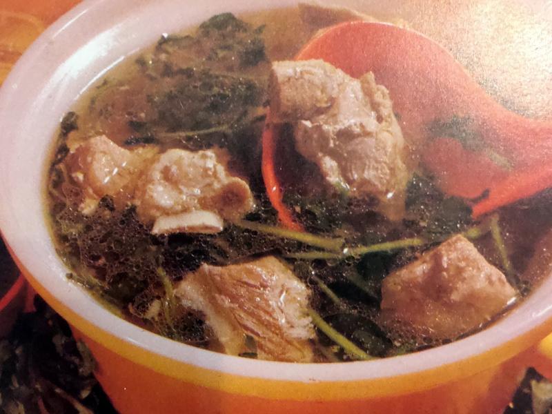 (星馬料理)西洋菜排骨湯